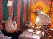 Mesa redonda sobre la situación de la mujer en Afganistán en El Casar