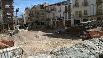 El PP de Horche denuncia la mala planificación de las obras de la Plaza Mayor