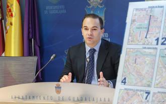 La operación asfalto de 2015 permitirá la renovación del firme de más de 23.000 metros cuadrados de superficie de Guadalajara