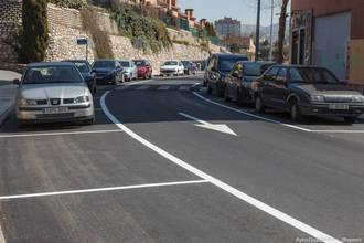 Finalizados trabajos de asfaltado de la calle Cuesta de Hita