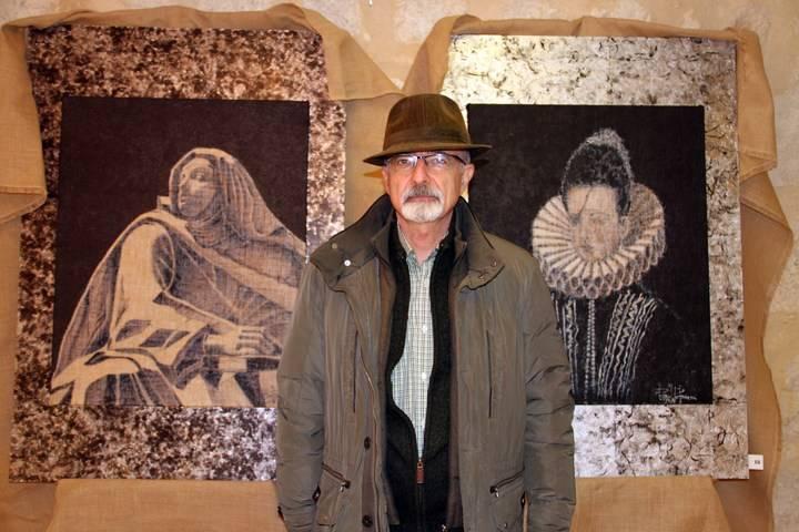 El pintor Raúl Ranera expone en el Palacio Ducal sus paisajes pastraneros