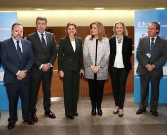 """Cospedal celebra que los datos del paro del mes de febrero son """"la segunda mejor cifra interanual de la serie histórica en Castilla-La Mancha"""""""