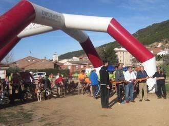 Chiloeches despide el VI Circuito de Canicross 'Diputación de Guadalajara', con victoria alcarreña
