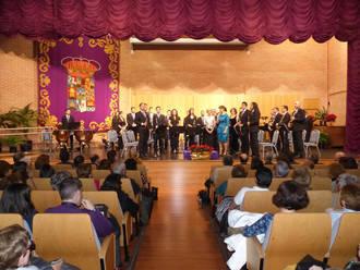 La Banda de Música de la Diputación ofrece tres conciertos pedagógicos ante un millar de escolares