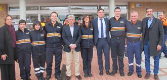 Cabanillas rinde tributo a su Agrupación de Protección Civil por una década de trabajo voluntario al servicio de los vecinos