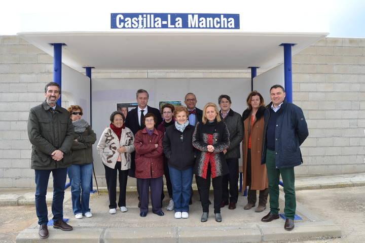 La Junta crea una línea de transporte por autobús que une Yebra con Guadalajara