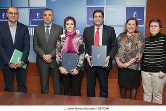 Sanidad y el Ayuntamiento de Malaguilla firman un protocolo para la construcción de un nuevo consultorio local