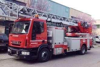 La nueva escala para el Servicio Municipal de Extinción de Incendios llegará a Guadalajara en abril