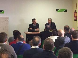 Antonio Román participa en la reunión de la Comisión permanente de APAG