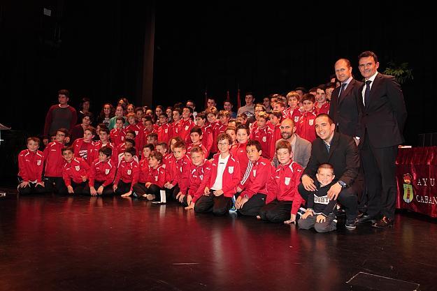 Cabanillas vivió su Día Grande del Deporte entregando sus premios en la VI Gala de reconocimientos deportivos