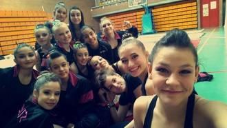 Ocho gimnastas del Club Stylo se clasificaron el sábado para el Campeonato Nacional Base