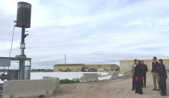 El Consorcio de Residuos de la Diputación instala un sistema para reducir la contaminación en la Planta de Torija