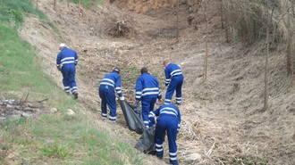 El Ayuntamiento de Cabanillas activa un Plan de Refuerzo de Mantenimiento Viario dando trabajo a nueve personas