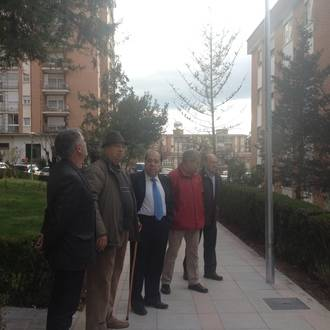 Mariano del Castillo, concejal Servicios Públicos Municipales, visita las obras realizadas en el Balconcillo