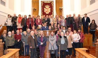 La Asociación de Jubilados de Pastrana visitó las fundaciones de Santa Teresa en Toledo