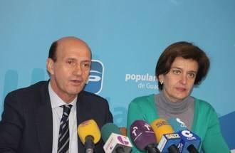 """Juan Pablo Sánchez: """"María Dolores Cospedal, junto a todos los ciudadanos de Castilla-La Mancha, tuvo que salvar a esta tierra de la ruina que nos dejaron los socialistas"""""""