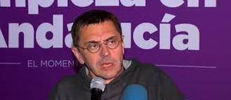 La fiscalía pide investigar a Monedero por injuriar a la Policía Nacional en Alcázar de San Juan