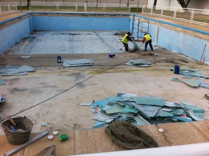 Yunquera de Henares reforma su piscina de cara al próximo verano