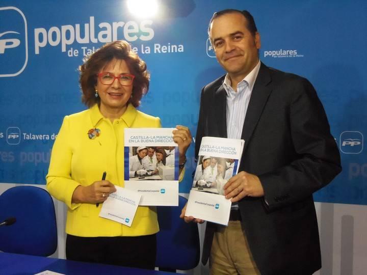 """Riolobos: """"En Castilla-La Mancha crecemos en la buena dirección por el trabajo de la presidenta Cospedal, realizado con honradez y eficacia, contando con todos"""""""