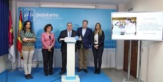 """Tirado: """"Cospedal ha puesto a Castilla-La Mancha en la buena dirección"""""""