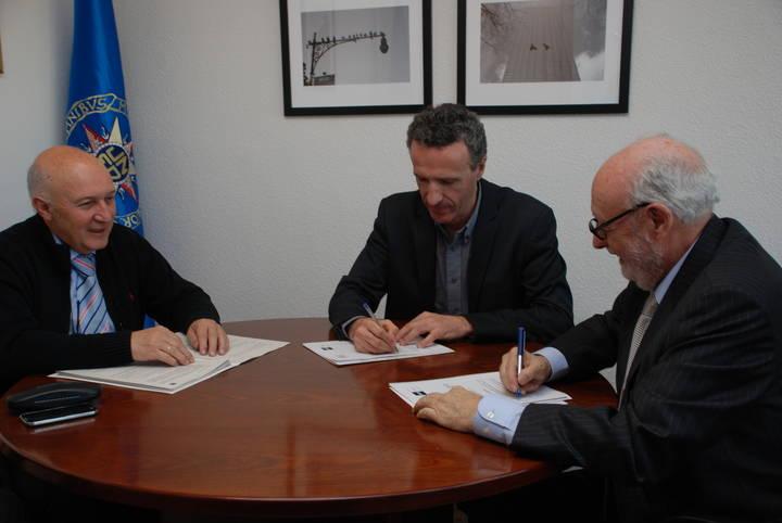 La UNED en Guadalajara firma un Convenio con la Fundación para la Prevención de Riesgos Laborales