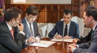 Firmado el Convenio para la Universidad de Mayores en Guadalajara
