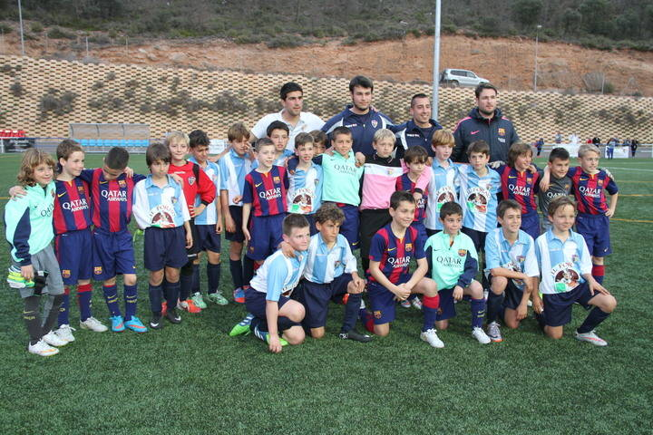 El FC Barcelona, campeón de la Trillo Cup en categoría benjamín