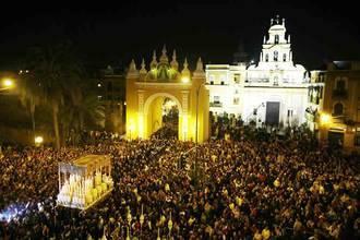 Más de medio millón de personas presenciarán en el centro de Sevilla