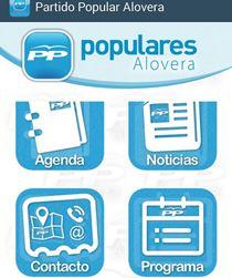El Partido Popular de Alovera lanza una app para estrechar aún más la comunicación con los vecinos
