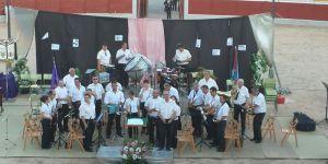 Martín promete seguir apoyando la promoción de la cultura que cultiva con gran pasión la Banda de Música de Alovera