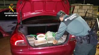 La Guardia Civil detiene en Mohernando a dos personas por tráfico de drogas