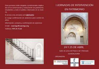 Guadalajara celebra las I Jornadas de Intervención al Patrimonio