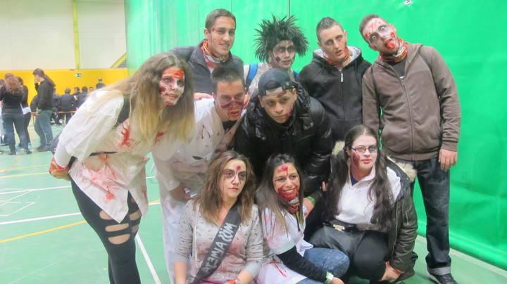Cabanillas del Campo supera con éxito la segunda invasión zombie de su historia