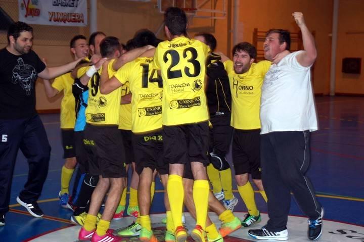 El equipo yunquerano de los Cuatro Caños F.S. se proclama campeón de cuarta división de fútbol sala a falta de una jornada