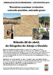 Cifuentes celebra su tercera jornada de patrimonio desde Gárgoles de Abajo hasta Gualda