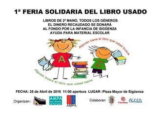 Sigüenza vuelve a mostrar su talante solidario los próximos días 25 y 26 de abril