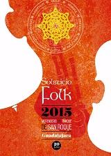 Ya hay cartel anunciador pare el Festival Solsticio Folk 2015