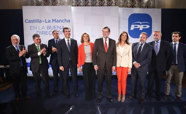 """Cospedal anima a los candidatos del Partido Popular a las alcaldías de la región a """"ofrecer futuro y a ganar en Castilla-La Mancha"""""""