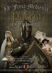 Pareja celebra este fin de semana su II Feria Medieval