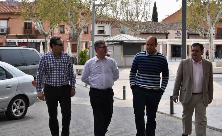 """Marcial Marín asegura en Marchamalo que """"Cospedal no va a concurrir a las elecciones prometiendo nada que no pueda cumplir"""""""