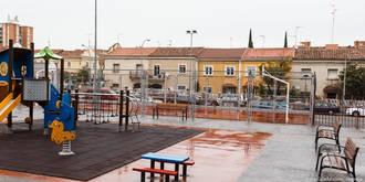 Mejoras en las instalaciones de las pistas deportivas de la calle Cogolludo de Guadalajara