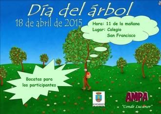Los niños de Cifuentes celebran este sábado el Día del Árbol