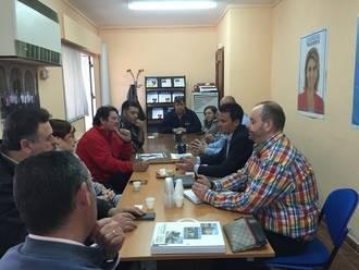 Juan Carlos Martín compromete su respaldo inequívoco a las asociaciones de Alovera que trabajan por el fomento del deporte