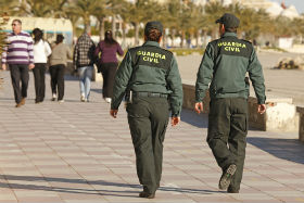 La Guardia Civil detiene a dos personas en Guadalajara por usurpación de estado civil