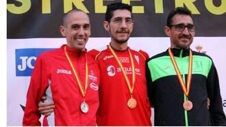 Javier Cañadillas, tercer clasificado en el Campeonato de España de 10km en Ruta en categoría M40
