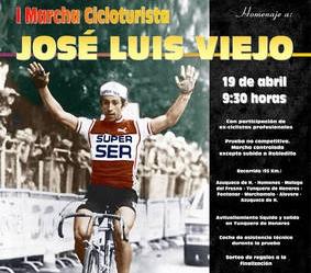 Azuqueca rinde homenaje a José Luis Viejo con una marcha cicloturista