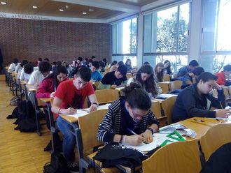 Alrededor de 150 estudiantes de la provincia se congregaron en la fase final de la Olimpiada Matemática de Guadalajara