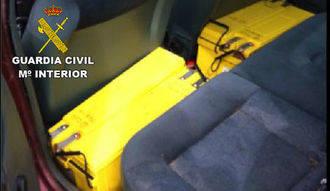 La Guardia Civil detiene en Galápagos a dos personas por robo