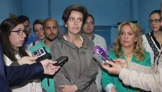 """Ana González: """"Mientras Cospedal anuncia una nueva bajada de impuestos el PSOE trae a Bono y Madina para apoyar a candidatos imputados"""""""