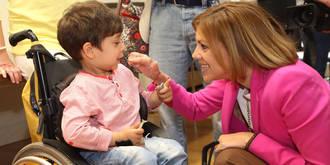 """Cospedal agradece a las asociaciones de discapacitados la """"enorme labor"""" que realizan para que la sociedad pueda """"cuidar de las personas más vulnerables"""""""